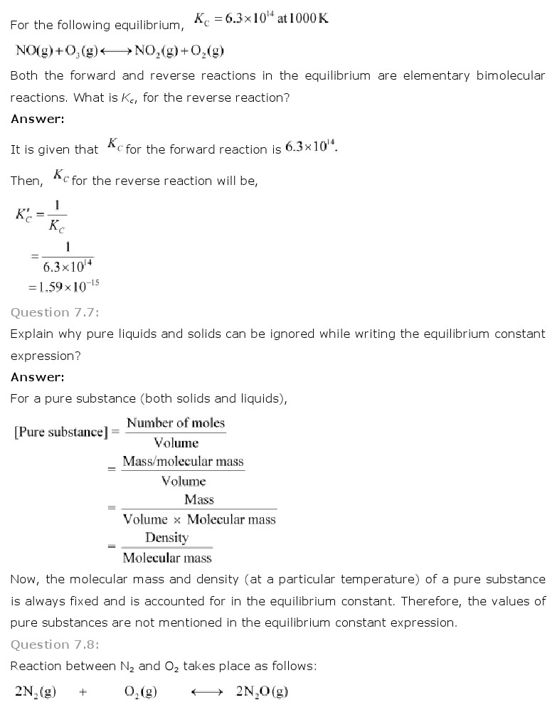 chemistry unit 7 test chemical reaction answers