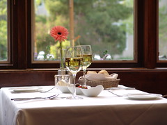 Flower and Wine, The Orchards Hotel, Williamstown