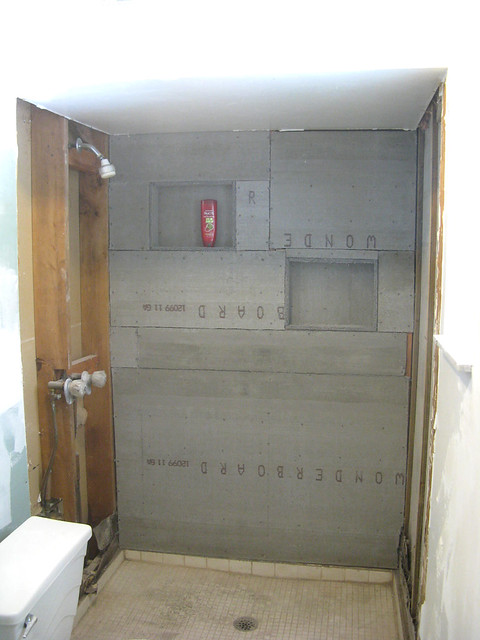 Cement Board Shower : Shower cement board flickr photo sharing