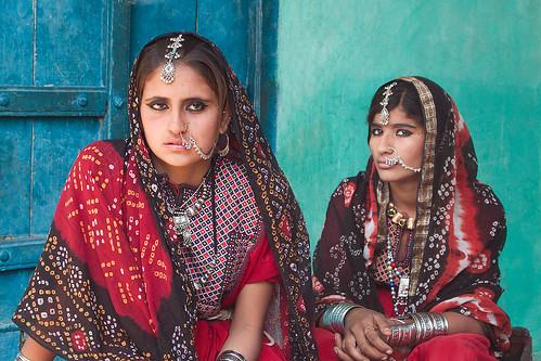 無料写真素材, 人物, 女性  アジア, インド人, サリー 民族衣装