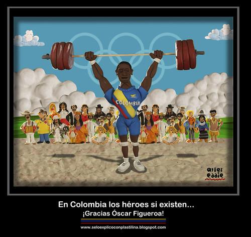 ¡Gracias Óscar Figueroa! by alter eddie