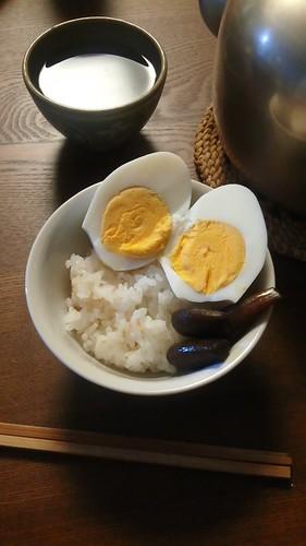 ゆでたまごごはん by nekotano