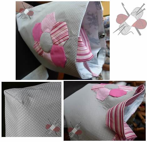 Bolsa patchwork de Mimi