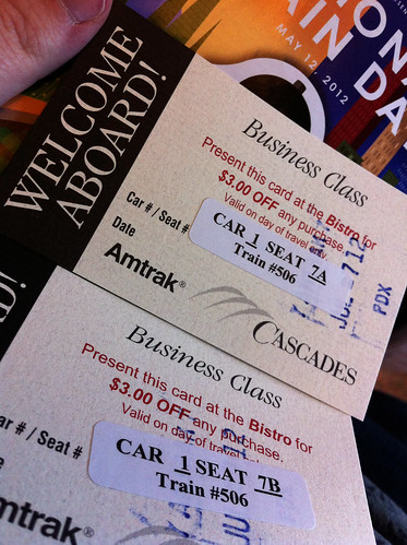 Amtrak - Business Class Vouchers