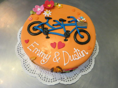 Tandem Bike Cake by CAKE Amsterdam - Cakes by ZOBOT