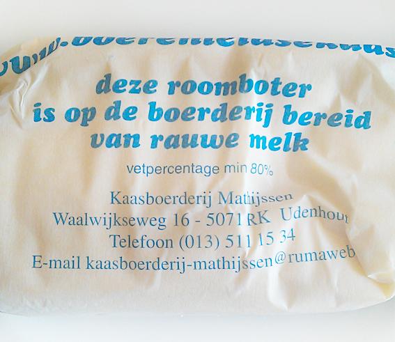 Rauwe melk boter