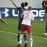 Markus Holgersson New York Red Bulls Gareth Bale Tottenham Hotspur Tim Cahill New York Red Bulls