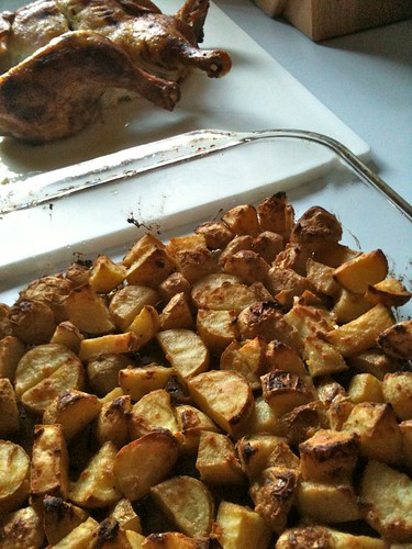 mustard roasted potatoes