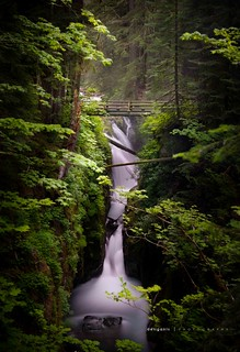 Sol Duc Falls, near the Sol Duc Hot Springs