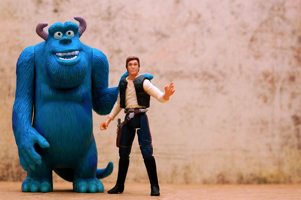 Han Solo & Sulley