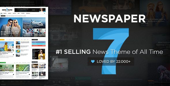 Newspaper 7.4 WordPress Theme
