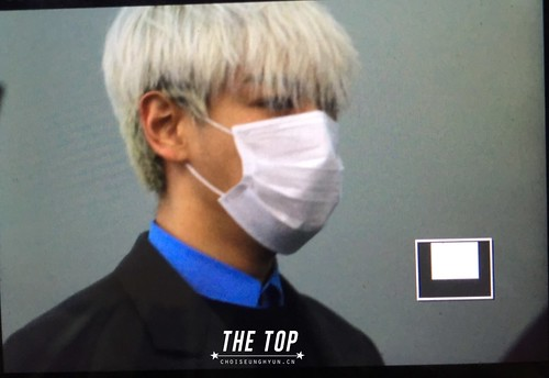 G-Dragon & TOP - Incheon Airport - 30jan2015 - TOP - The TOP - 06