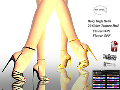 Multi Design Betty High Heels