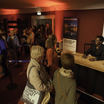 Lemn Sissay | The hugely successful poet meets fans after his event © Robin Mair