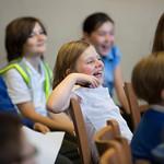 Schoolchildren taking part in an interactive workshop | © Amy Muir