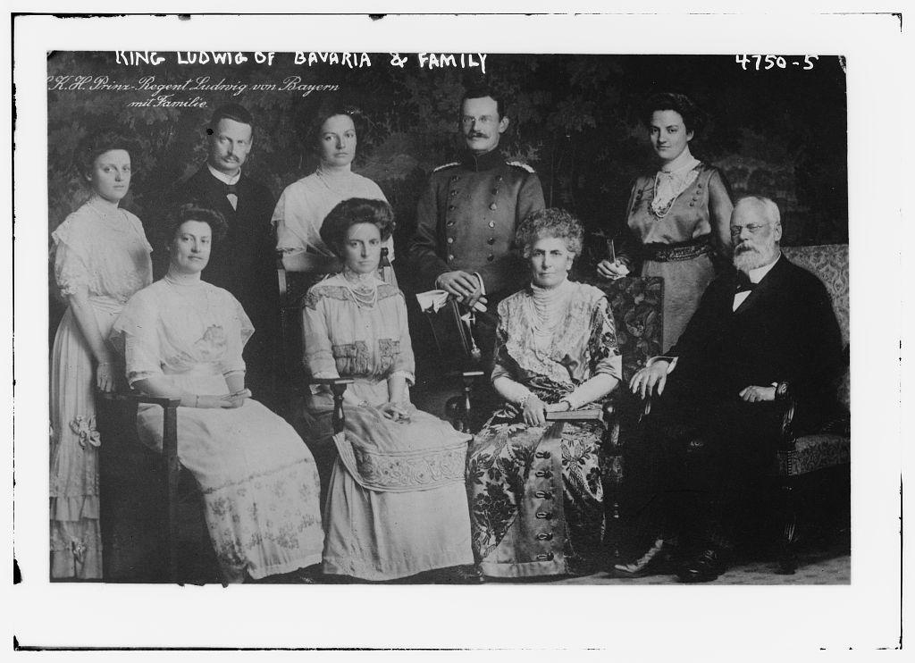 King Ludwig of Bavaria & Family (LOC)