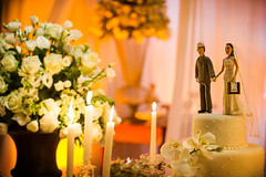 meal(0.0), aisle(0.0), bride(1.0), flower arranging(1.0), flower(1.0), wedding reception(1.0), yellow(1.0), wedding(1.0), floral design(1.0), centrepiece(1.0), floristry(1.0), ceremony(1.0),
