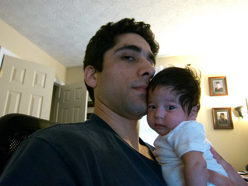 Evening Self-Portrait with Scarlett