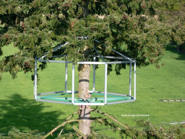 lesage structure bretagne fabrication armature pour cabane dans les arbres flickr photo. Black Bedroom Furniture Sets. Home Design Ideas
