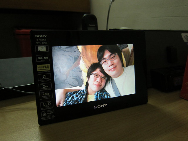 Sony S-Frame DPF-HD700 - Landscape Photo (The Fat Me)