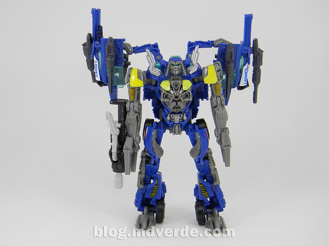 Transformers Topspin Deluxe - Dark of the Moon - modo robot