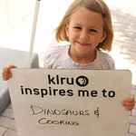 KLRU inspires me to... dinosaurs & cooking.