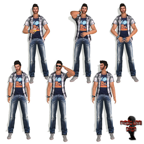 Bounce This Poses - Male GQ Pose Pack
