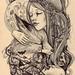 Moon+fox+girl by Hochulia
