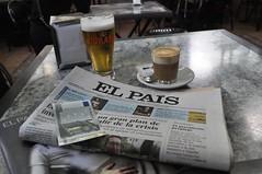 Diari de diumenge, canya, tallat, euros ... a Espanya!
