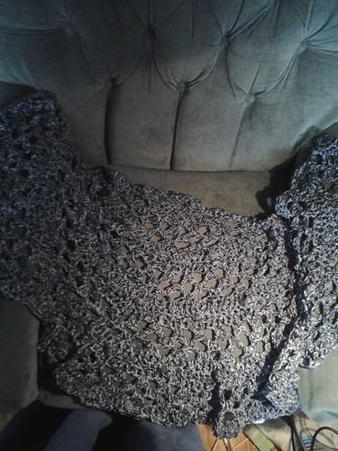chenille shawl