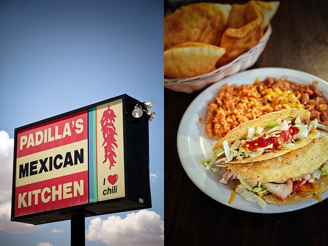 New Mexico Food / Padilla's Mexican Kitchen | Cross Country Roadtrip | 50 States Photography Challenge