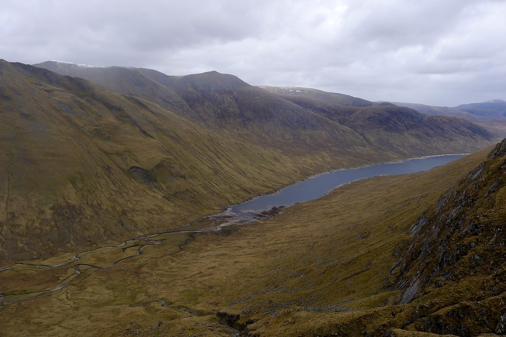 Loch Monar from the gully