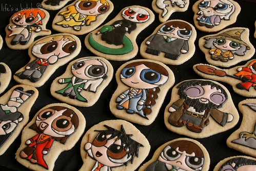 Potterpuff Cookies.