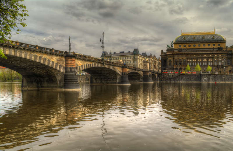 Legions Bridge and National Theater