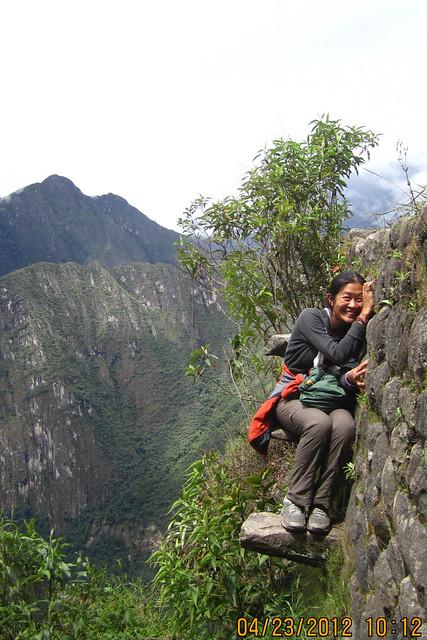 Machu Picchu as Playground