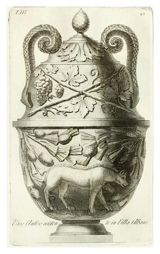 017-Manuale di varj ornamenti componenti la serie de' vasj antichi…Vol 3-1740-Carlo Antonini