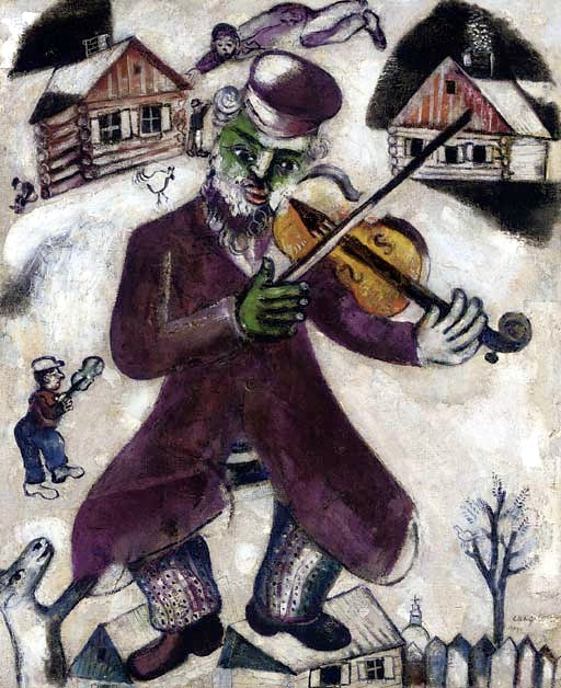 Chagall, Marc (1887-1985) - 1928-29 Musician (Christie's New York, 2007)