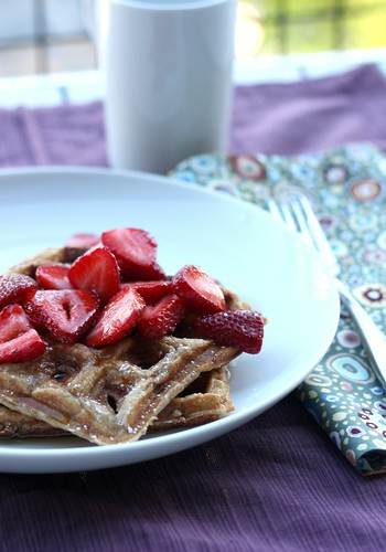 Honey-Yogurt Waffles – Elly Says Opa!