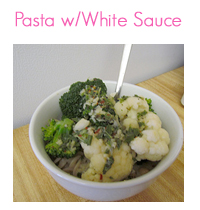 MEAL ICON pasta white sauce