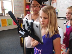 Students Filming with iPad 26