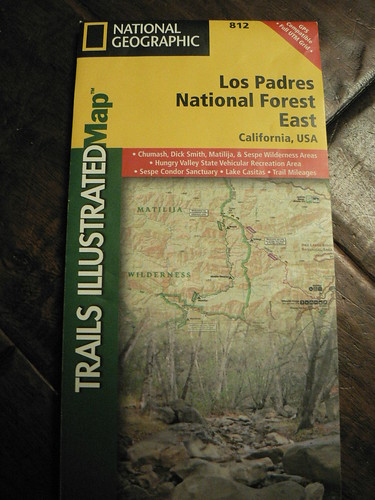 Trails Illustrated Map 812