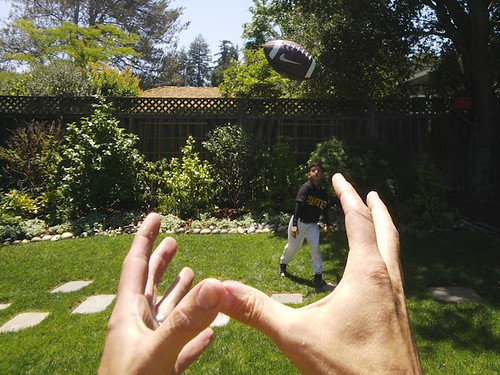 5 - Catching ball