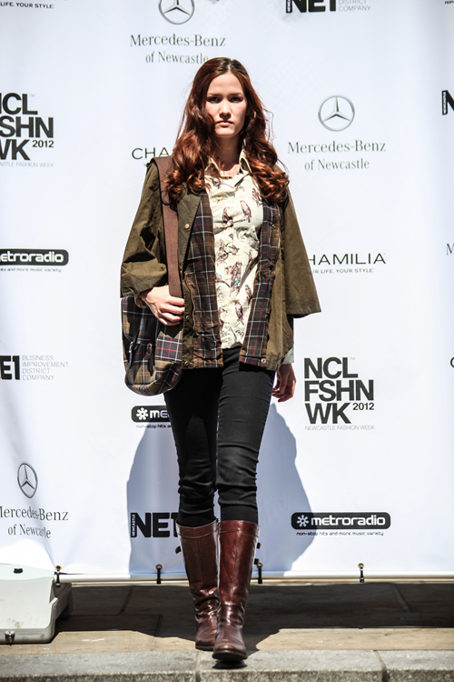NE1's NFW 2012 - 27th May - Full Barbour Fashion Show-469-1