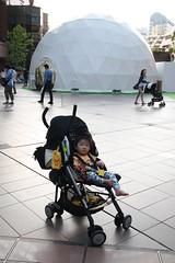 恵比寿ガーデンプレイスのとらちゃん(2012/5/27)