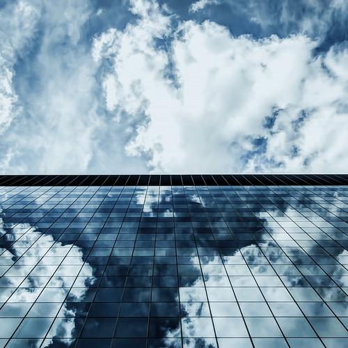 [フリー画像素材] 建築物・町並み, ビルディング, 反射・鏡像 ID:201206022000