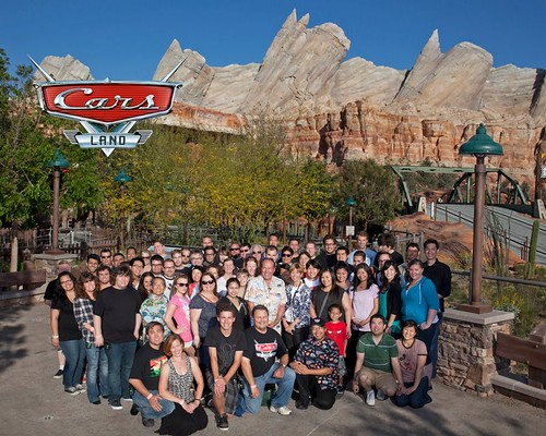 Duke & I got to preview Cars Land Yesterday :)