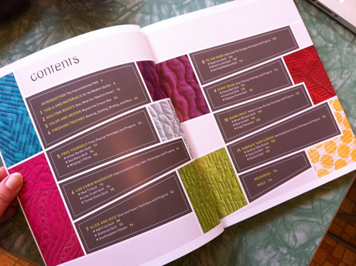 Quilting Modern table of contents