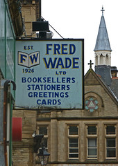 Fred Wade (est. 1926), Rawson Street, Halifax by Tim Green aka atoach