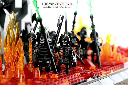 The Voice of evil - soldiers of the fire