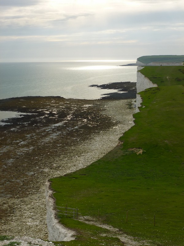 On the Seven Sisters Berwick to Birling Gap walk